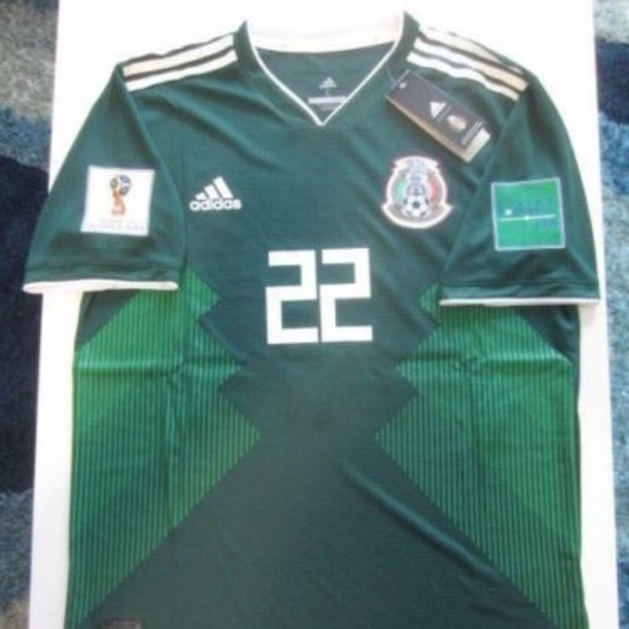 pretty nice 830d9 1d040 ADIDAS CHUCKY LOZANO MEXICO 2018 WORLD CUP JERSEY NWT